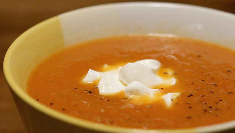 Vadouvan Butternut Squash Soup