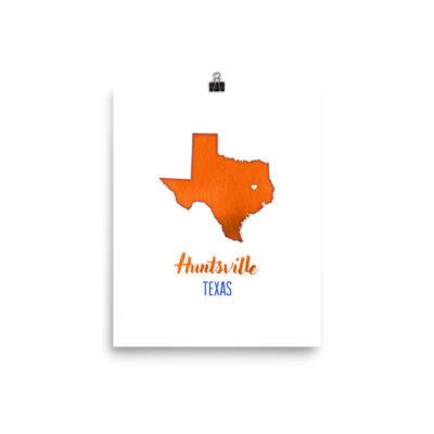 hunstville texas shsu sam houston state east art print hallie
